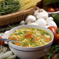 Supa de potarnichi