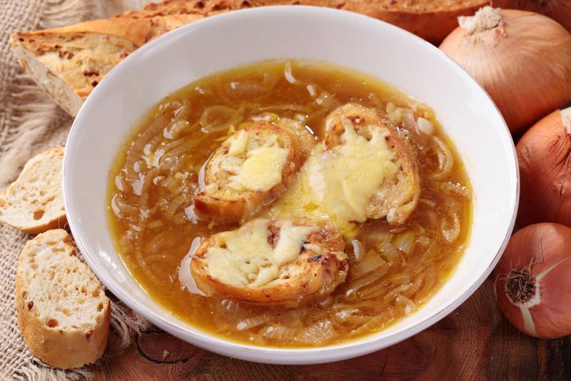 Supa de carne cu omleta