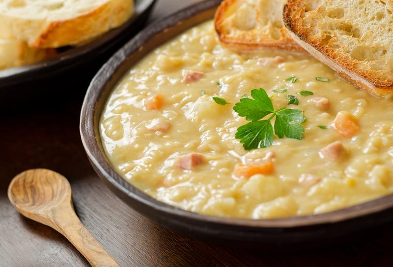 Supa-crema de conopida cu parmezan