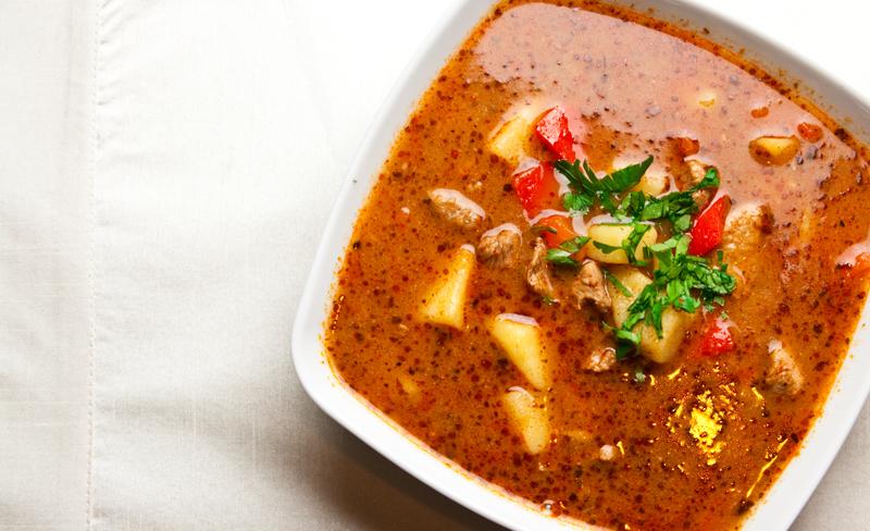 Supa concentrata cu varza si tarhon