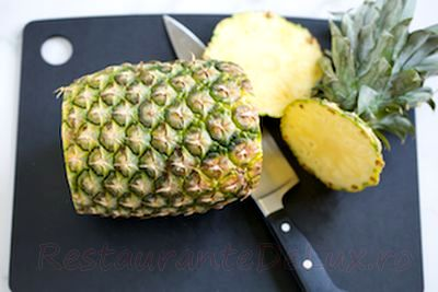 Chutney de ananas cu soc