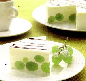 Bavareze cu mentă si ciocolată