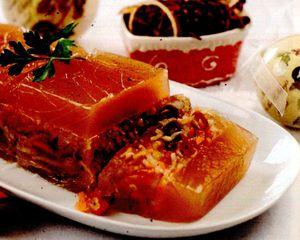 Aspic cu gelatină