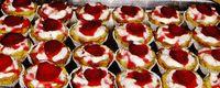 Desert: tarte cu capsuni
