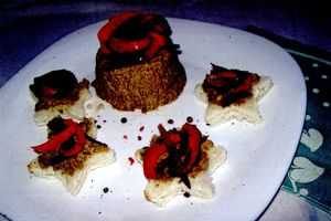 Pasta_de_linte_cu_legume_coapte_si_ierburi