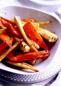 Morcovi caramelizaţi
