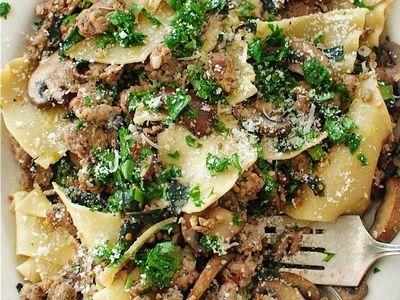 Paste aromate cu carne si legume