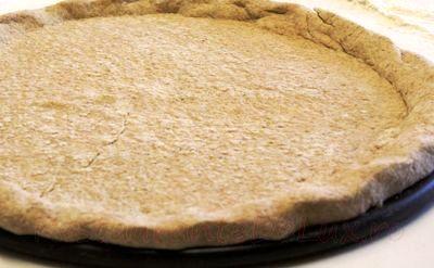 Pizza cu aluat din branză tofu