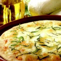 Pizza cu branza dulce