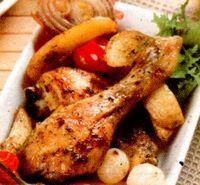 Pui_la_cuptor_cu_rosii_si_cartofi