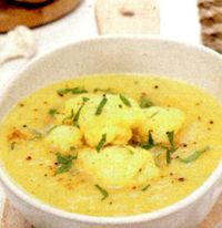 Supa crema de conopida cu morcovi
