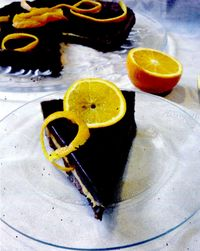 Tarta cu ciocolata si portocale