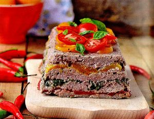 Chicken liver terrine