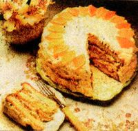 Tort delicios cu crema de lamaie