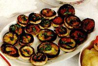 Ciuperci cu masline la cuptor