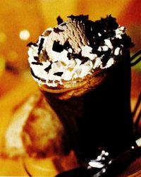 Frappe de ciocolată şi banane