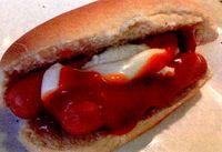 Hot dog cu branza