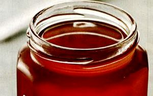 Plum and apple jelly
