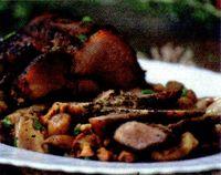 Ciuperci cu carne de porc