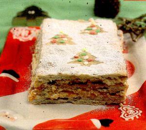 Prăjitură cu marmeladă de caise