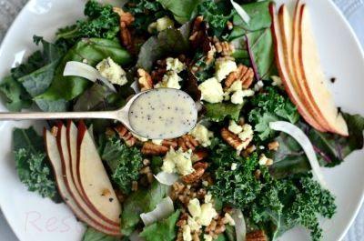 Salata de gorgonzola cu struguri
