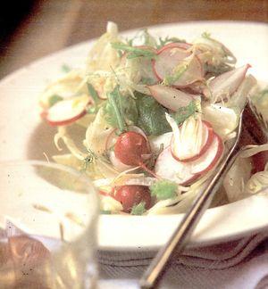 Salată de ridichi si fenicul