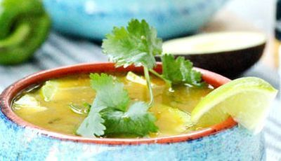 Supa de pui cu ardei iute