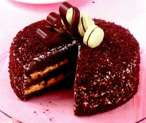Tort de ciocolata neagra