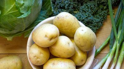 Piure de cartofi cu ceapa