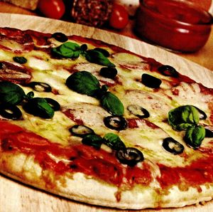 Pizza picanta cu ardei