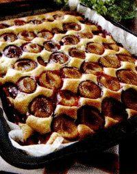 Prăjitură cu scortisoara si prune