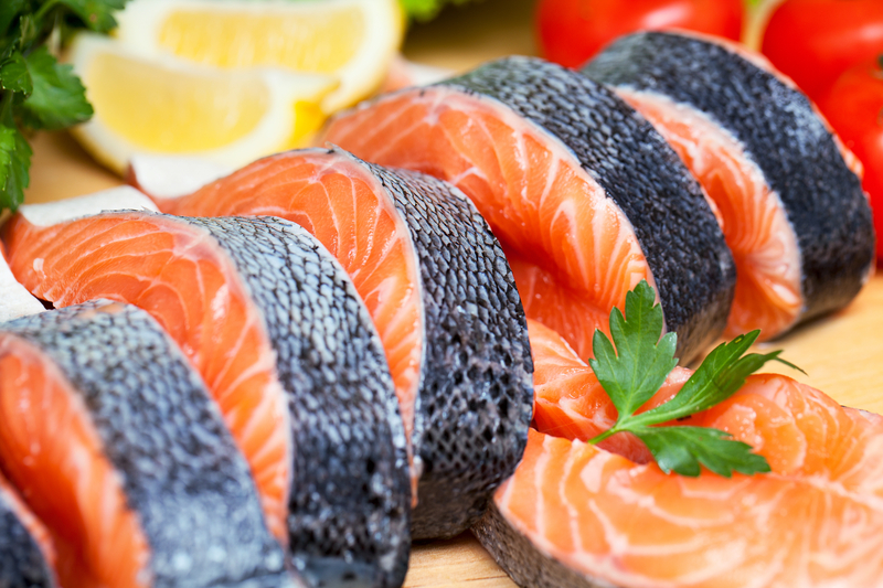 Peşte cu legume