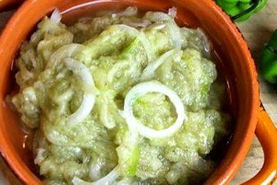 Salata de vinete cu masline si maioneza