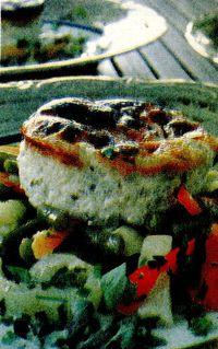 Sufleu de legume cu branză