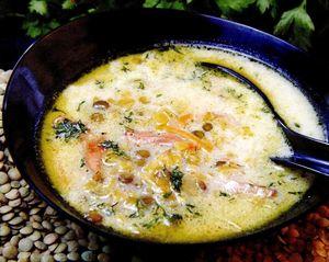 Supa cu chimen si crutoane