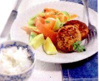 Chiftele_de_somon_cu_salata_de_cruditati