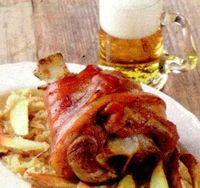 Ciolan de porc cu miere