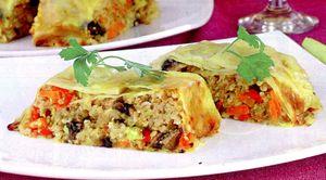 Drob din soia cu legume