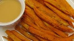 How_to_make_Baked_sweet_potato_fries_and_dipping_sauce