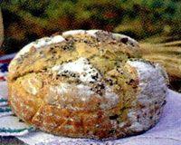 Paine cu seminte framantata in masina de paine