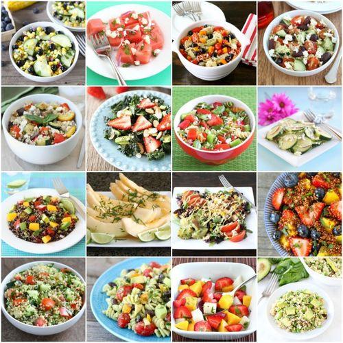 Salata simpla cu nuci
