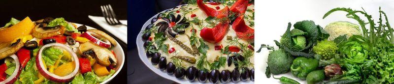 Salate simple cu legume