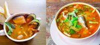 Supă cu frecăţei si patrunjel verde tocat