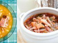 Supă de ceapă cu perisoare si busuioc