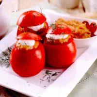 Reteta rosii umplute cu salata de vinete
