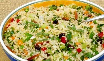 Salata de cuscus si legume