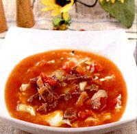 Supa gulas cu carne de oaie