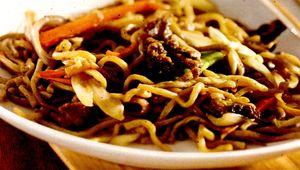 Taitei chinezesti cu ciuperci