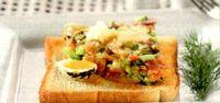 Cum se prepara Amestec spaniol si somon tartar
