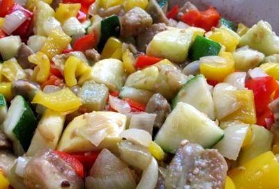 Tocanita cu legume si soia